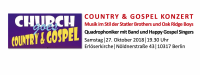 Country & Gospel Konzert am 27. Oktober 2018 in der Erlöserkirche Berlin-Lichtenberg. Bildquelle: Church Event